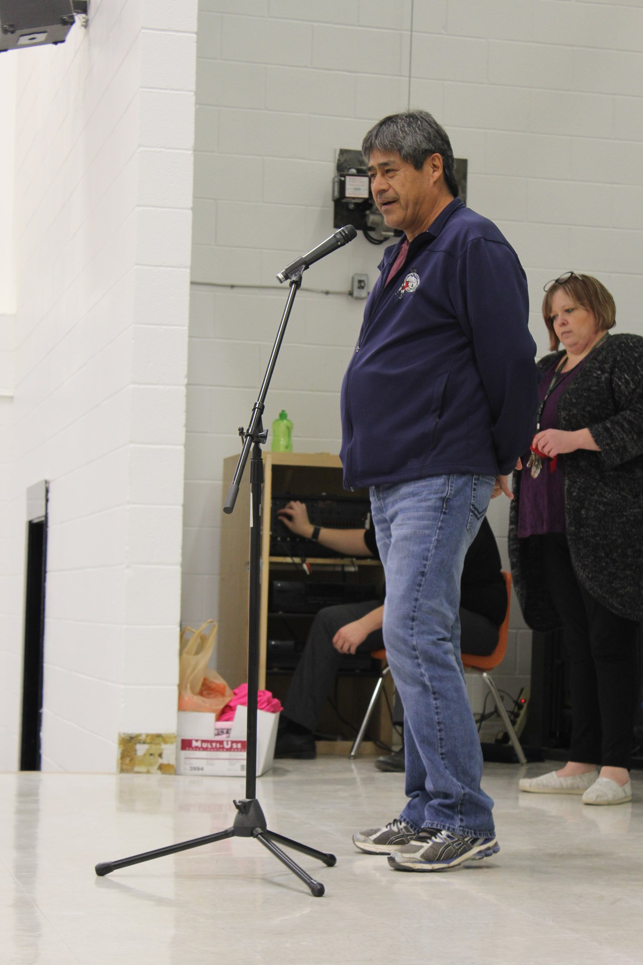 Chief McNab at PCHS Gym Event.JPG