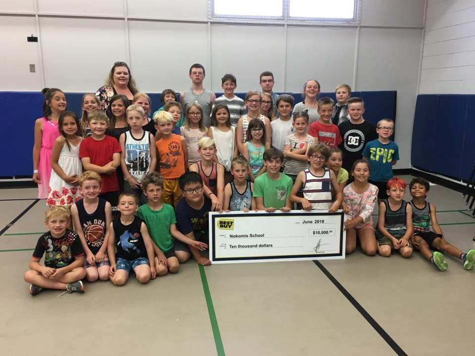 Nokomis Best Buy school grant.jpg