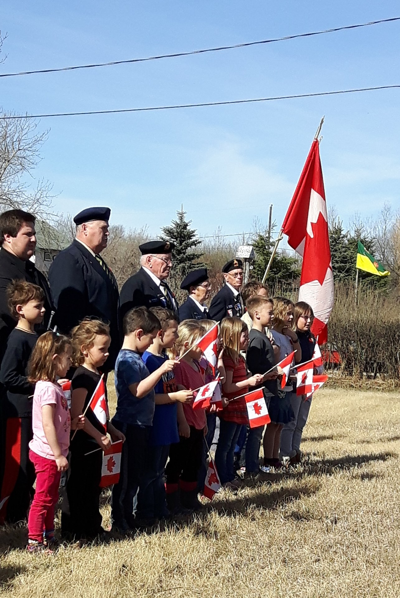 Vimy Memorial Ceremony at Bulyea School.jpg